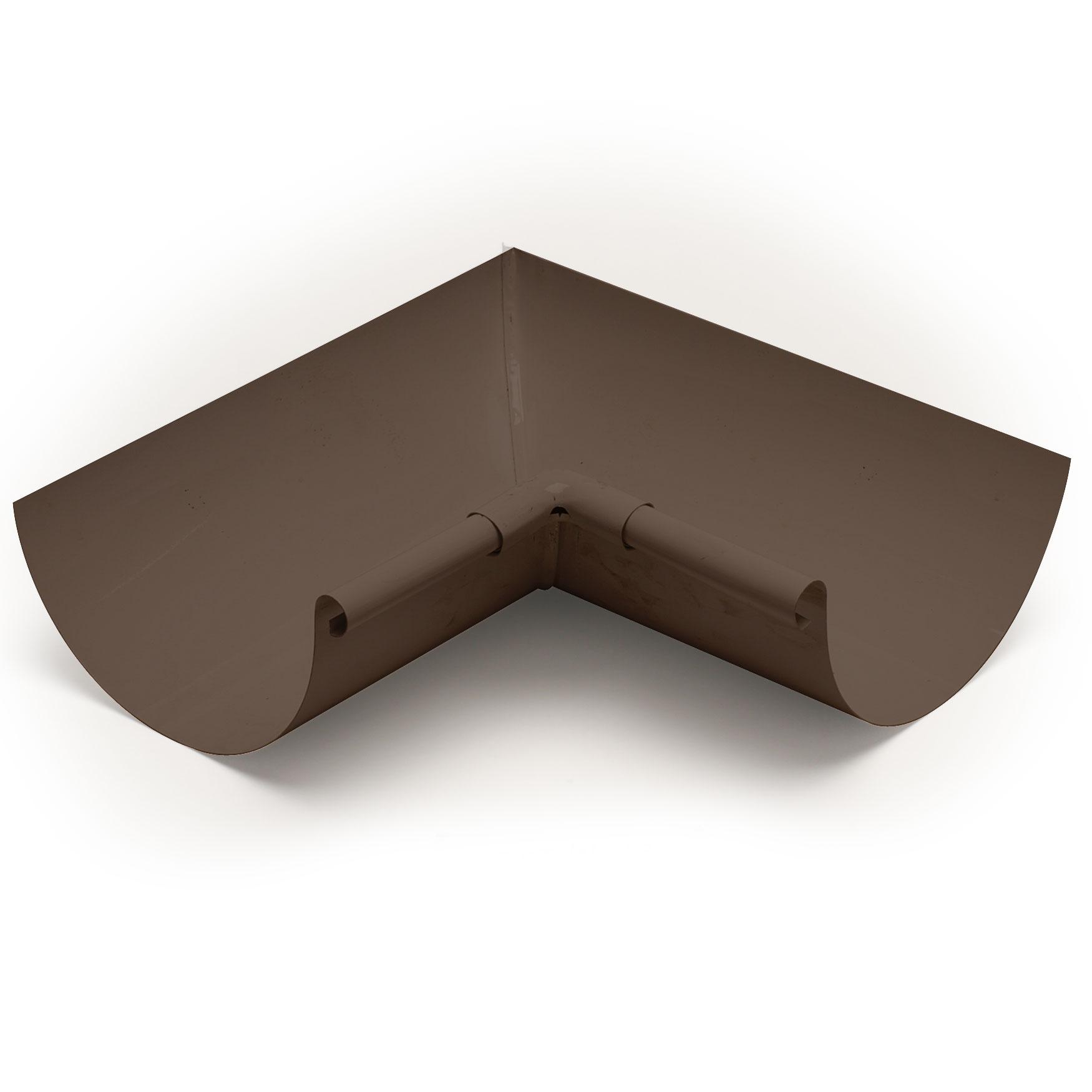 """6"""" Inside Box Miters Half Round - Aluminum"""