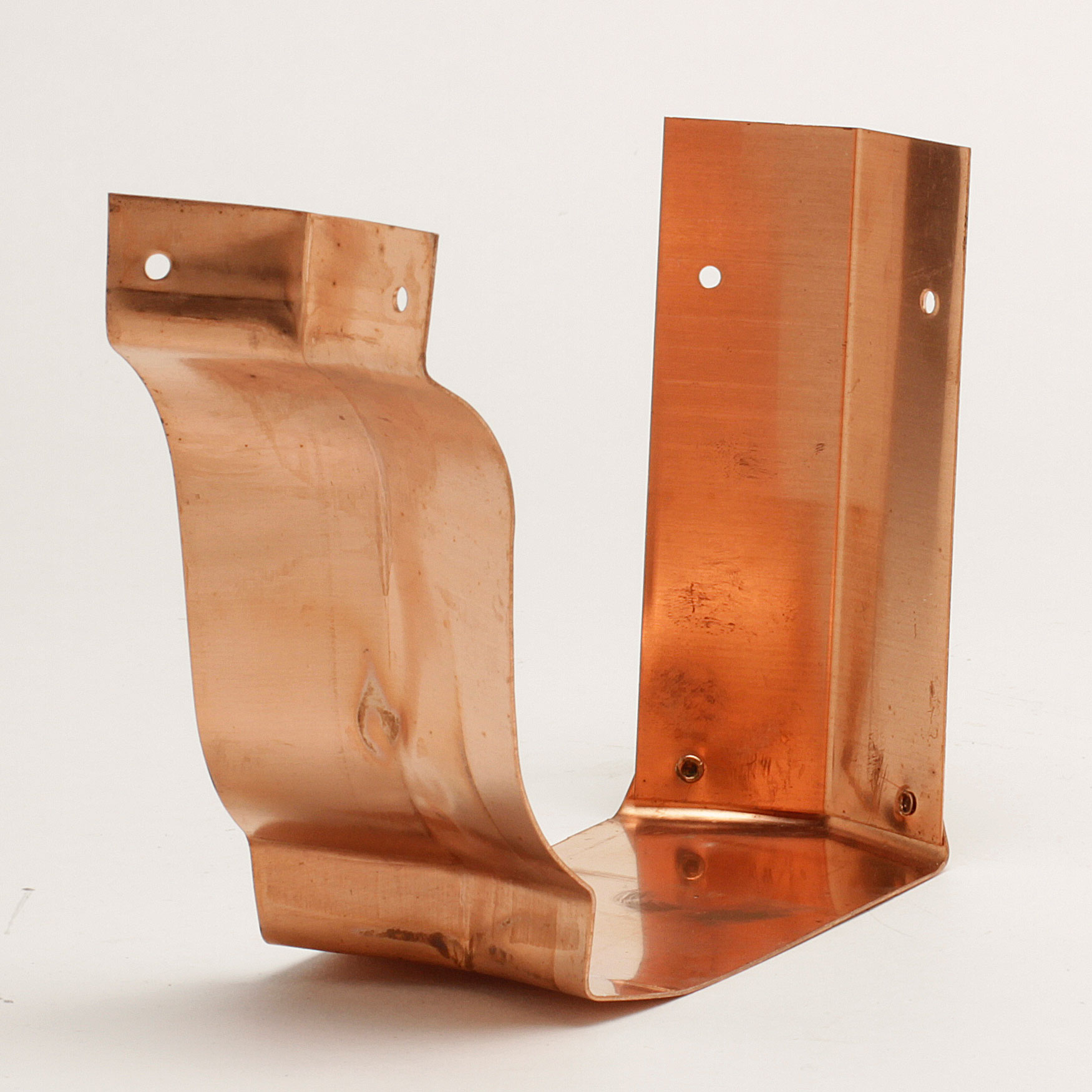 "6"" Inside Bay Strip Miters ""K"" Style - Copper"