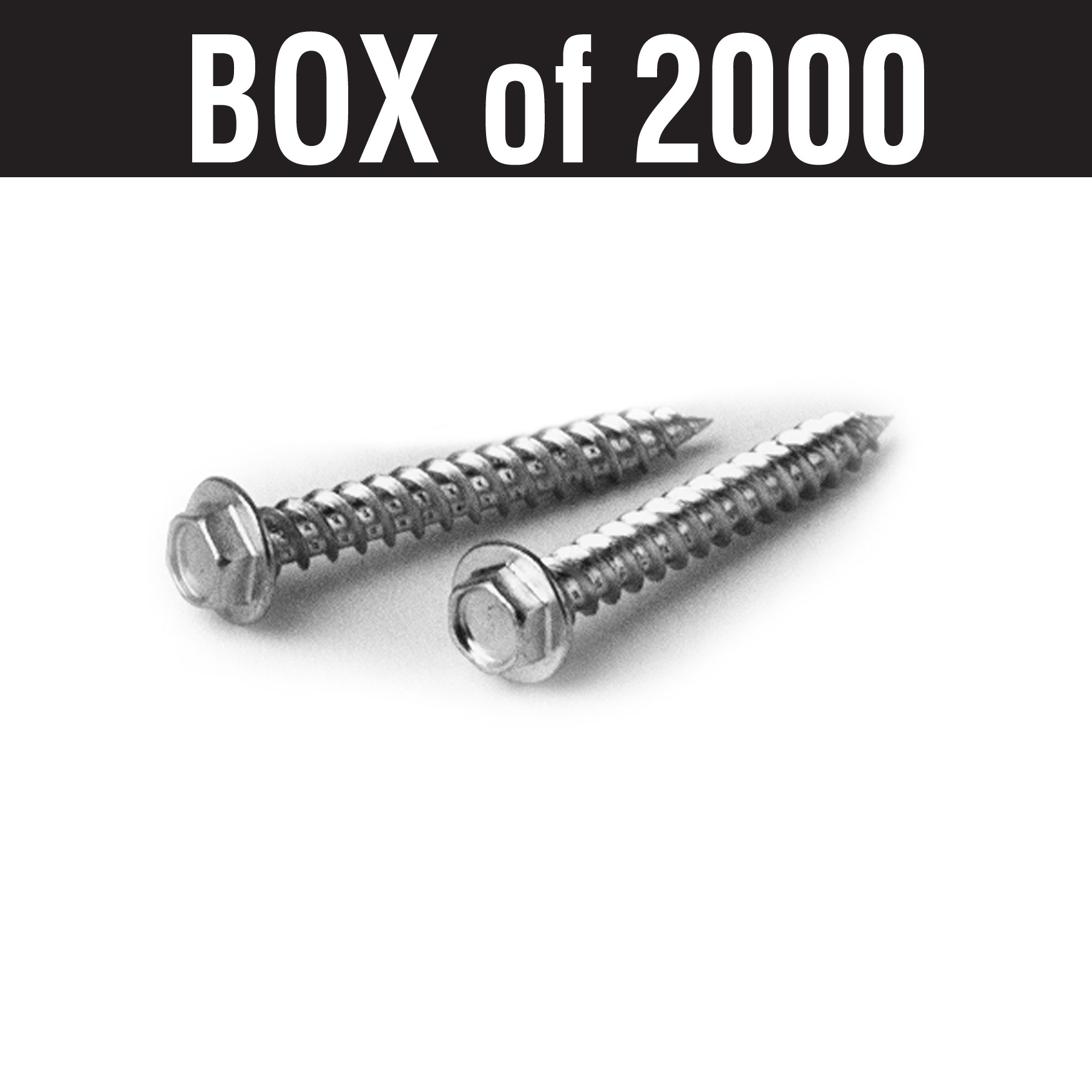 #10 Woodgrip Screws – 2""