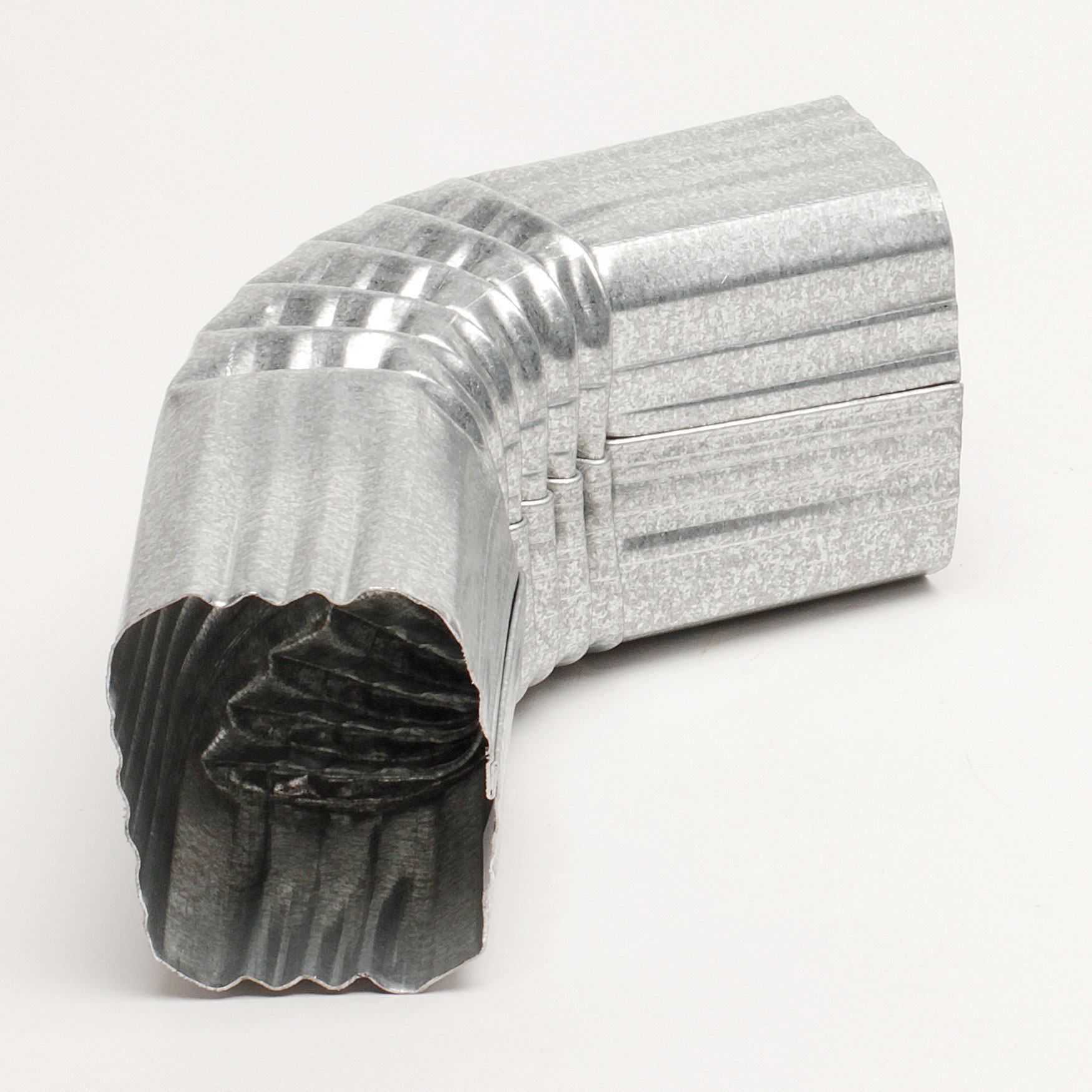 "2"" x 3"" Galvanized Elbow – ""A"" Style"