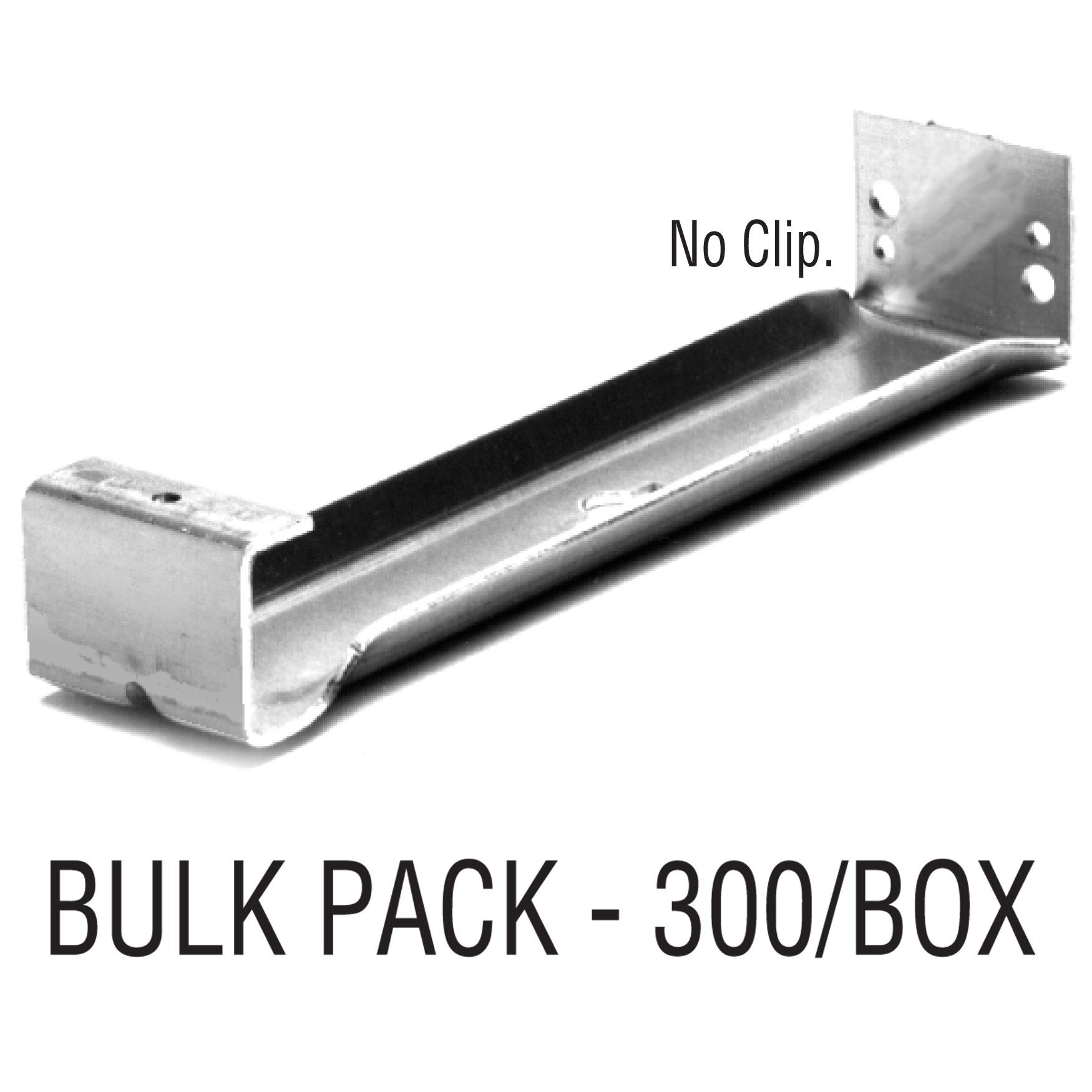 """6"""" Universal Hidden Hanger – No Clip - Bulk"""